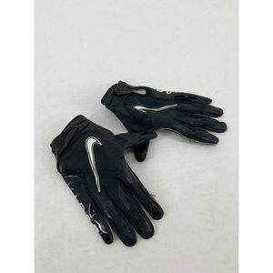 Nike vapor black white L football gloves
